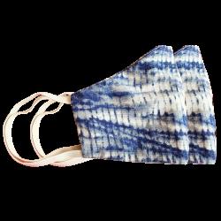 Cotton Printed Reusable Washable Face Masks, Set Of 2