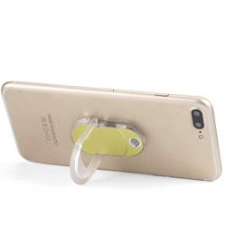 Mobile Phone Ring Bracket Holder with Charging Cigarette Lighter