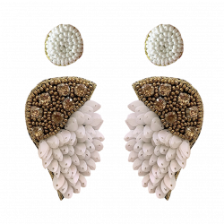 Combo of Sequins Bead Dangler Earrings And Studs For Women/Girls