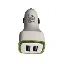 Car Charger Dual USB 3 Amp.